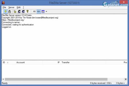 FileZilla Server Screenshot2