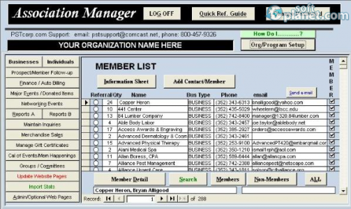 Association Manager Screenshot2
