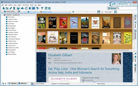 Collectorz.com Book Collector Screenshot2