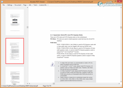 Aloaha PDF Suite Screenshot2