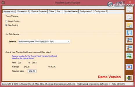 Air Cooled Heat Exchanger Design Screenshot2