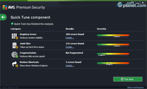 AVG Premium Security Screenshot3