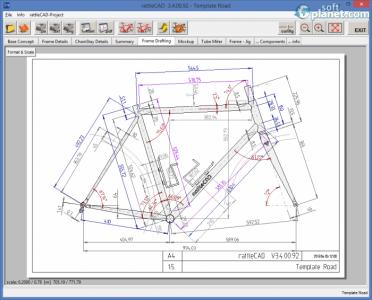 rattleCAD Screenshot2