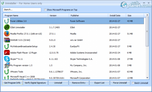 Puran Utilities Screenshot3