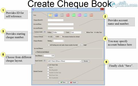 ChequeSystem Screenshot2