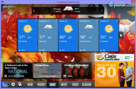 The Weather Channel App Screenshot2