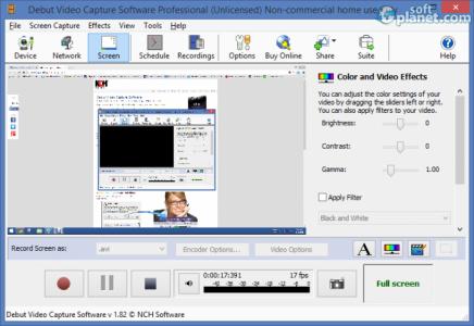 Debut Video Capture Software Pro Screenshot4