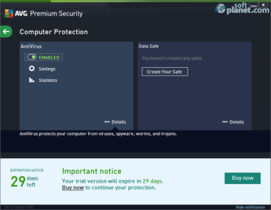 AVG Premium Security Screenshot2