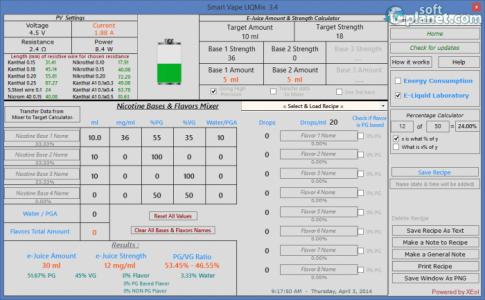 Smart Vape LIQMix Screenshot5