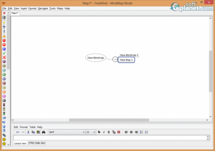 FreeMind Screenshot2