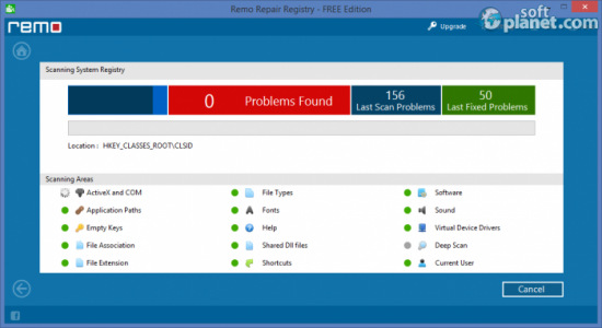 Remo Repair Registry FREE Edition Screenshot2