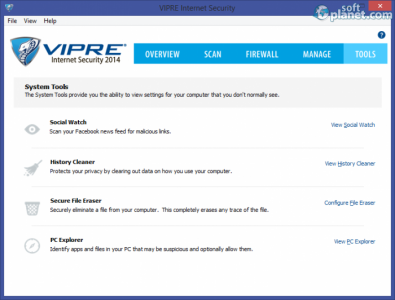 VIPRE Internet Security Screenshot5