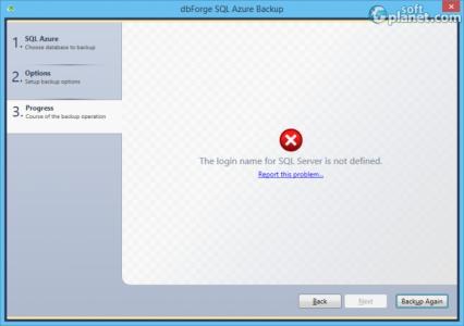 dbForge SQL Azure Backup Screenshot3