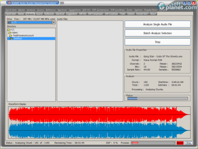 AAMS Auto Audio Mastering System Screenshot4