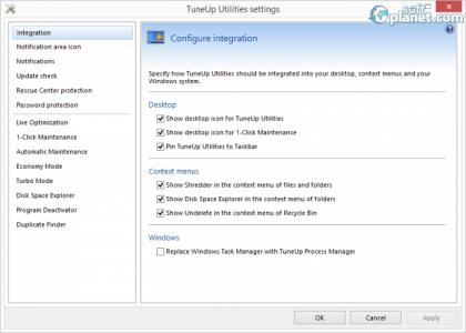TuneUp Utilities Screenshot4