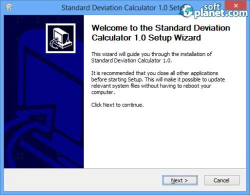Standard Deviation Calculator Screenshot2