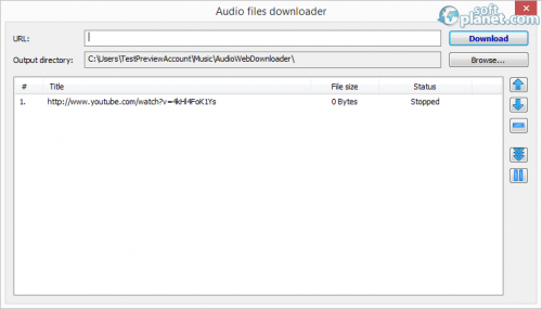 Axara Audio Converter Screenshot4