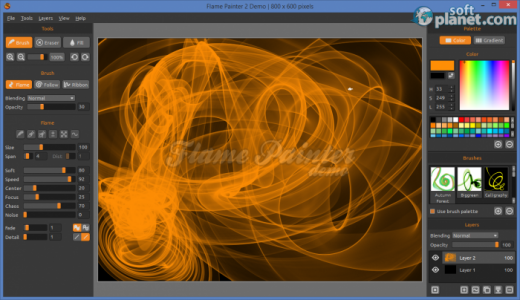 Flame Painter Screenshot4
