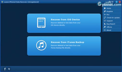 Leawo iPhone4 Data Recovery Screenshot3