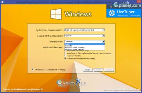 Windows 8 Transformation Pack Immersive UI