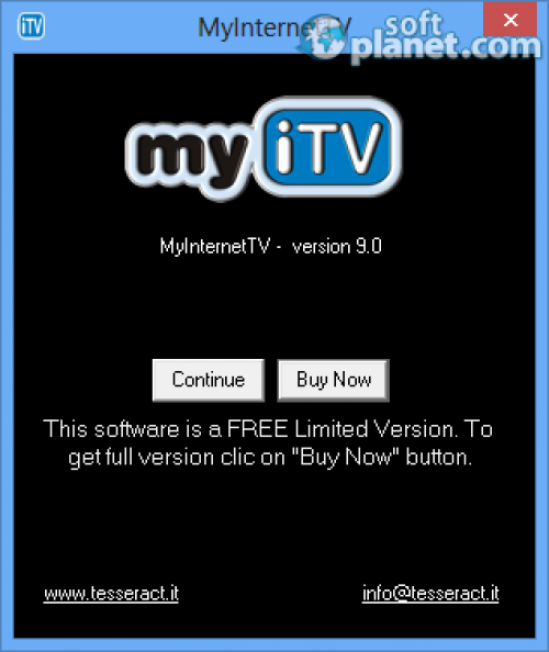 MyInternetTV Screenshot2
