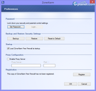 ZoneAlarm Free Firewall Screenshot4