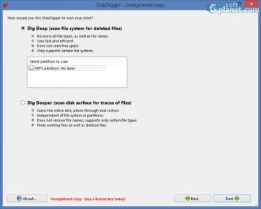 DiskDigger Screenshot3
