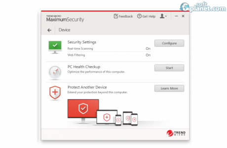 Trend Micro Maximum Security Screenshot5
