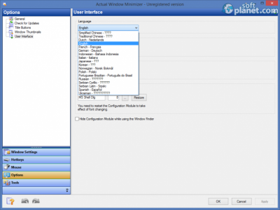 Actual Window Minimizer Screenshot4