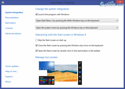 Start Menu X Screenshot2