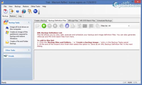 Macrium Reflect Standard Screenshot4