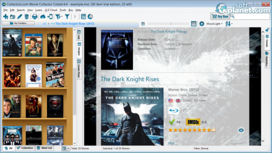 Collectorz.com Movie Collector Screenshot3