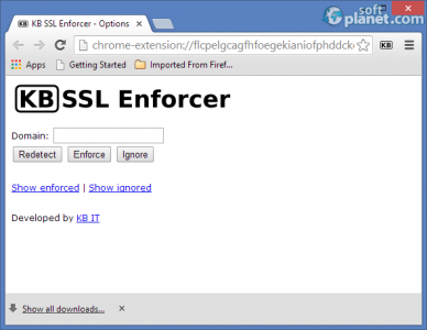 KB SSL Enforcer Screenshot2