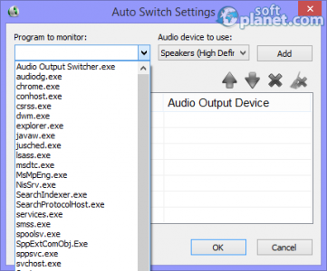 Audio Output Switcher Screenshot2