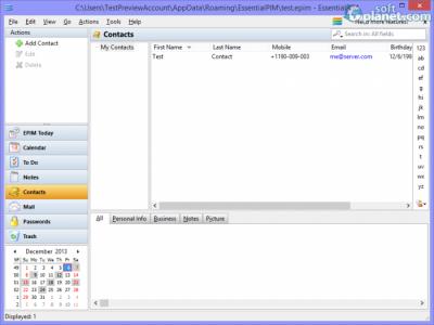 EssentialPIM Screenshot5