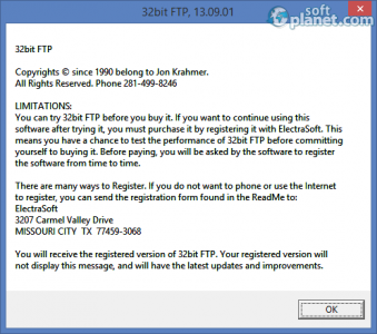 32bit FTP Screenshot3