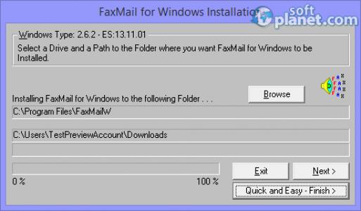 FaxMail for Windows Screenshot5