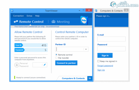 TeamViewer Portable Screenshot3