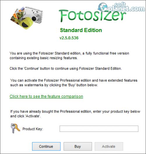 Fotosizer Screenshot2