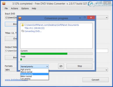 Free DVD Video Converter Screenshot3