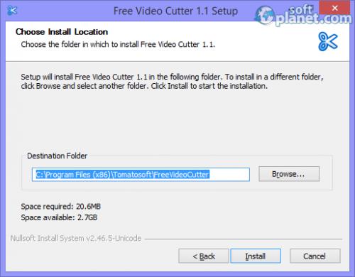 Free Video Cutter Screenshot3