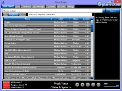 MusicTuner Screenshot3