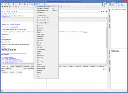 Wing IDE Screenshot3
