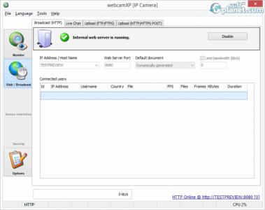 webcamXP Screenshot2