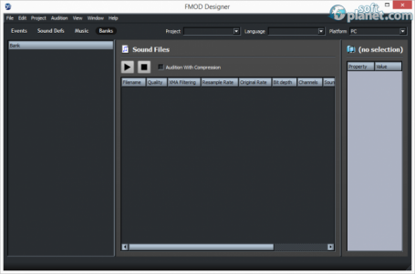 Fmod Designer Screenshot4