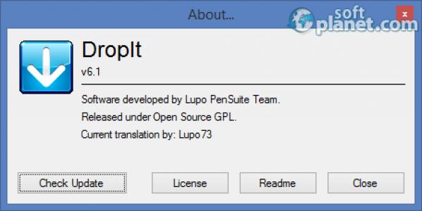 DropIt Lupo Screenshot3
