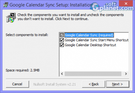 Google Calendar Sync Screenshot2