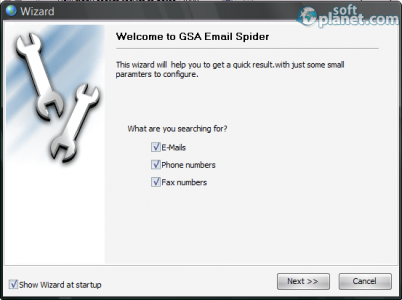 GSA Email Spider Screenshot2
