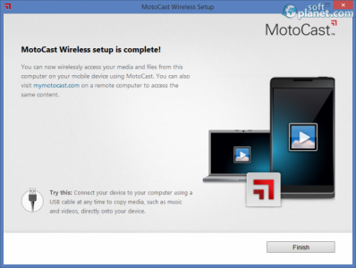 MotoCast Screenshot3