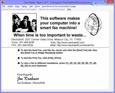 FaxMail for Windows Screenshot4